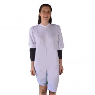 Pyjama pour incontinence en tricot   Manches et jambes courtes   Taille S (38)