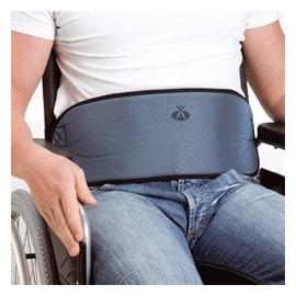 Ceinture abdominale de maintien pour fauteuil roulant | Avec boucles | Matériau respirant | Taille ajustable