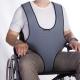 Harnais veste de soutien périnéale de type plastron pour fauteuil roulant - Foto 1