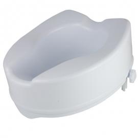 Rehausseur toilettes sans abattant   Rehausse WC   Sans couvercle   Hauteur : 6, 10, 15 cm