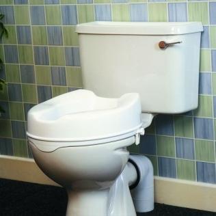 Rehausse WC sans couvercle | Trois hauteurs disponibles : 5, 10 ou 15 cm