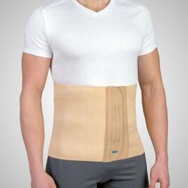 Bande abdominale coton avec velcro | Couleur beige | Emo