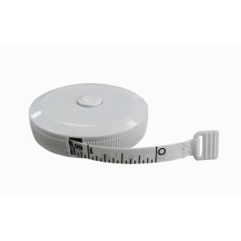 Ruban de mesure Rotary | rétractable et enroulable | Longueur: 150 cm | échelle en cm ou pounce