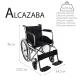 Fauteuil roulant pliable | Orthopédique | Légère | Noir | Alcazaba | Mobiclinic - Foto 7