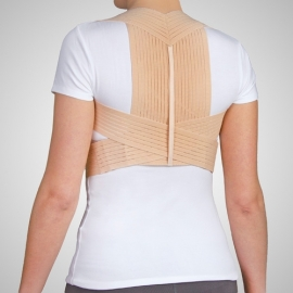 Epaulière respirante avec velcro Taille 1 (74-80 cm)