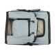 Sac de transport pour animaux de compagnie   Taille L   Supporte 15 kg   67x50x49 cm   Pliable   Gris   Balú   Mobiclinic - Foto 4