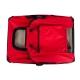 Sac de transport pour animaux de compagnie | Taille M | Supporte 10 kg | 57x38x44 cm | Pliable | Rouge | Balú | Mobiclinic - Foto 4
