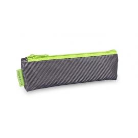 Trousse isotherme | Avec fermeture éclair | Pour stylos à insuline | Gris et vert pomme | Insulin´s | Elite Bags