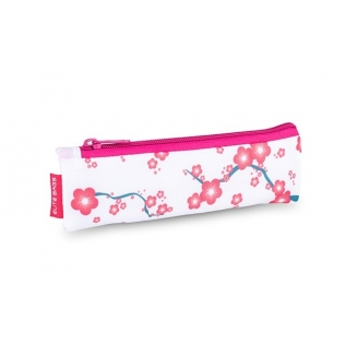 Trousse isotherme   Avec fermeture éclair   Pour stylos à insuline   Motifs fleuris roses   Insulin´s   Elite Bags