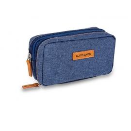 Pochette isotherme | Pour diabétiques | Bleu jean | Diabetic's | Elite Bags