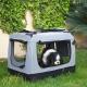 Sac de transport pour animaux de compagnie   Taille L   Supporte 15 kg   67x50x49 cm   Pliable   Gris   Balú   Mobiclinic - Foto 7