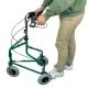 Déambulateur à 3 roues | Pliable et réglable | Panier et Sac | Vert | Caleta | Mobiclinic - Foto 8