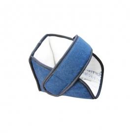 Chausson anti-escarres en Bambou | Couleur Bleu Marine | Texture douce
