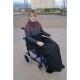 Couverture thermique imperméable et thermorégulable | Pour fauteuil roulant | 90 x 105 cm - Foto 1
