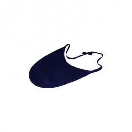 Bavoir pour Trachéotomie Standard | Couleur Bleu Marine | Impérméable et pratique