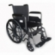 Carrozzina disabili | Sedia a rotelle pieghevole | Poggiapiedi e braccioli estraibili | Acciaio | S220 Sevilla | Mobiclinic - Foto 1
