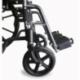 Carrozzina disabili | Sedia a rotelle pieghevole | Poggiapiedi e braccioli estraibili | Acciaio | S220 Sevilla | Mobiclinic - Foto 2