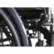 Carrozzina disabili | Sedia a rotelle pieghevole | Poggiapiedi e braccioli estraibili | Acciaio | S220 Sevilla | Mobiclinic - Foto 3