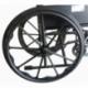 Carrozzina disabili | Sedia a rotelle pieghevole | Poggiapiedi e braccioli estraibili | Acciaio | S220 Sevilla | Mobiclinic - Foto 4