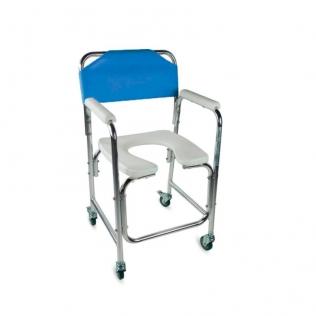 Comoda wc | Sedia a rotelle con wc | Seduta e schienale imbottiti ...