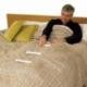 Scaletta per sollevarsi dal letto | Accessori letto | Scaletta in corda | Bianca | Mobiclinic - Foto 1