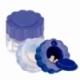 Portapillole | Taglia pastiglie | 2 in 1 | Blu e trasparente | Mobiclinic - Foto 1