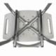 Sedia per doccia | Regolabile in altezza | Schienale | Gommini antiscivolo | Bianco | Olivo | Mobiclinic - Foto 7