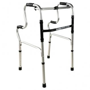 Deambulatore senza ruote | Girello per anziani regolabile in altezza | Alluminio | Pórtico | Mobiclinic