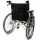 Sedia a rotelle TOP | Braccioli fissi | Poggiapiedi removibili | Freni a mano | Alluminio | Nero | Palacio | Mobiclinic - Foto 3
