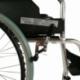Sedia a rotelle TOP | Braccioli fissi | Poggiapiedi removibili | Freni a mano | Alluminio | Nero | Palacio | Mobiclinic - Foto 4
