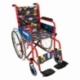 Sedia a rotelle bambini   Sedia a rotelle pieghevole   Braccioli e poggiapiedi fissi   Teatro   Mobiclinic - Foto 1
