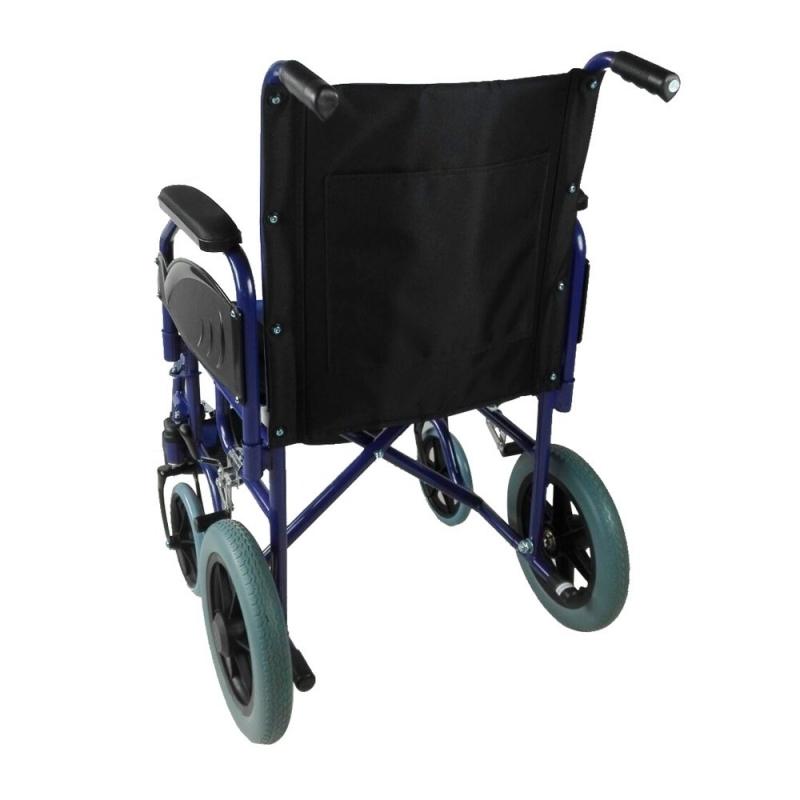 Sedia a rotelle VIP | Pieghevole | Braccioli e poggiapiedi ...