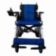 Carrozzina elettrica   Sedia a rotelle elettrica   Pieghevole   Blu e nera   Alluminio   Lyra   Mobiclinic - Foto 2