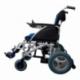 Carrozzina elettrica   Sedia a rotelle elettrica   Pieghevole   Blu e nera   Alluminio   Lyra   Mobiclinic - Foto 3