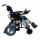 Carrozzina elettrica   Sedia a rotelle elettrica   Pieghevole   Blu e nera   Alluminio   Lyra   Mobiclinic - Foto 4