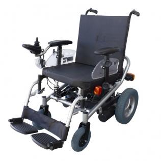 Carrozzina elettrica | Sedia a rotelle elettrica | Batteria a lunga durata | Nero | Orión | Mobiclinic