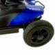Scooter elettrico 4 ruote per adulti | Compatto e smontabile | Autonomia 10 km | 12V | Blu | Virgo | Mobiclinic - Foto 6
