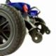 Scooter elettrico 4 ruote per adulti | Compatto e smontabile | Autonomia 10 km | 12V | Blu | Virgo | Mobiclinic - Foto 7
