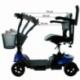 Scooter elettrico 4 ruote per adulti | Compatto e smontabile | Autonomia 10 km | 12V | Blu | Virgo | Mobiclinic - Foto 10