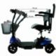 Scooter elettrico 4 ruote per adulti | Compatto e smontabile | Autonomia 10 km | 12V | Blu | Virgo | Mobiclinic - Foto 14