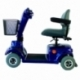 Scooter elettrico a 4 ruote per disabili | Sedile girevole e pieghevole | Autonomia 34 km | 12V | Blu | Piscis | Mobiclinic - Foto 2