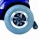Scooter elettrico a 4 ruote per disabili | Sedile girevole e pieghevole | Autonomia 34 km | 12V | Blu | Piscis | Mobiclinic - Foto 8