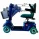 Scooter elettrico a 4 ruote per disabili | Sedile girevole e pieghevole | Autonomia 34 km | 12V | Blu | Piscis | Mobiclinic - Foto 10