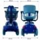 Scooter elettrico a 4 ruote per disabili | Sedile girevole e pieghevole | Autonomia 34 km | 12V | Blu | Piscis | Mobiclinic - Foto 12