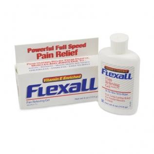Flexall 454 | Gel con aloe vera | Analgesico topico | Per il dolore muscolare | 113 gr.
