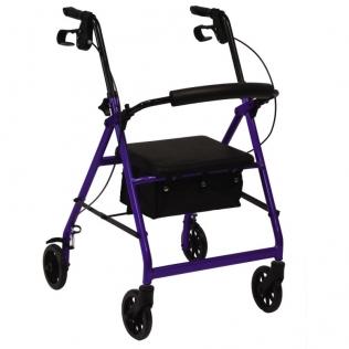 Deambulatore rollator pieghevole   Girello per anziani con ruote e freni   Speciale artrite