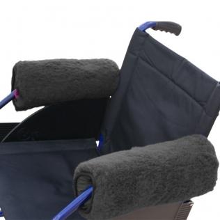 Braccioli per sedia a rotelle | Braccioli per sedia con braccioli | 34 x 34 cm