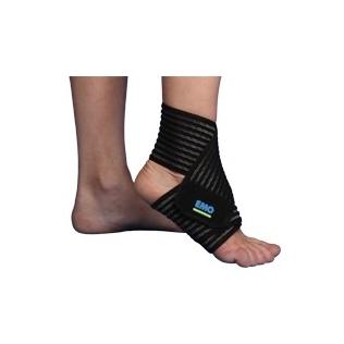 Fascia elastica per caviglia | Distorsione caviglia | 80 cm | Emo | Strapin