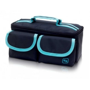 Astuccio isotermico con retina per trasporto di campioni | Estrazione di campioni | Blu e celeste | ROW'S