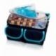 Astuccio isotermico con retina per trasporto di campioni | Estrazione di campioni | Blu e celeste | ROW'S - Foto 4